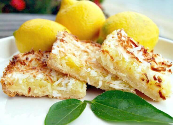 Lemon Coconut Protein Bar