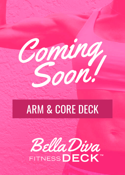 Arm and Core Bella Diva Fitness Deck