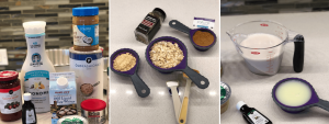 Simply Diva-Licious Oatmeal Bake Ingredients