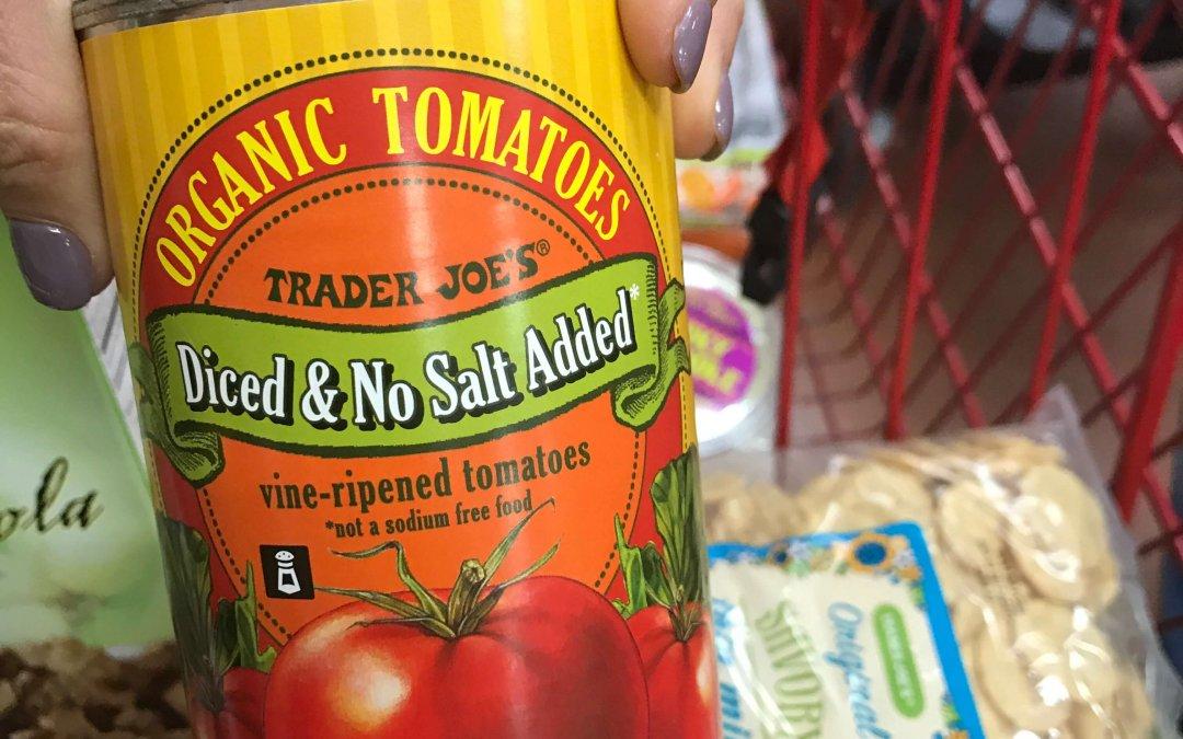 Why NO-salt added