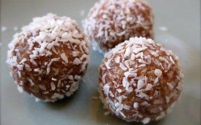 Coco-Nutty Pumpkin Protein Bites
