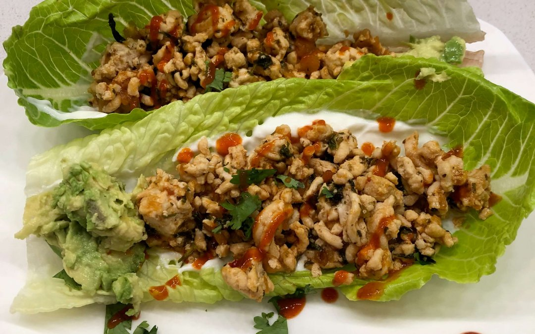 Timeless Thai Lettuce Wrap