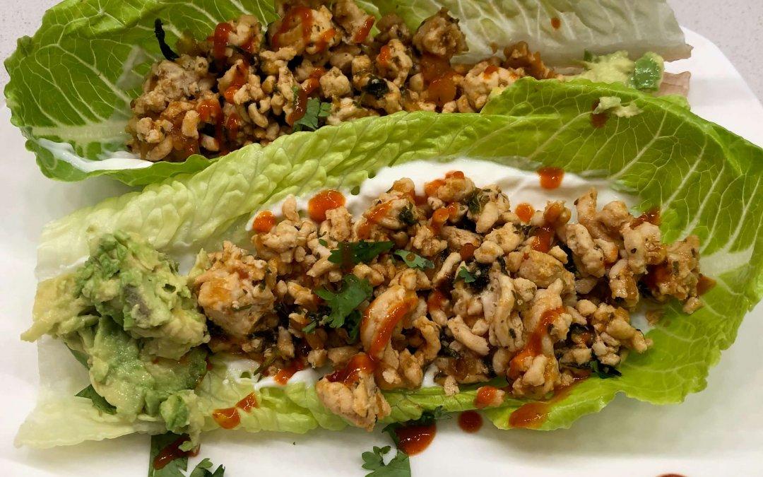 Timeless Thai Lettuce Wrap