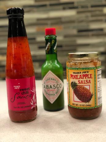 Thai Lettuce Wraps Ingredients